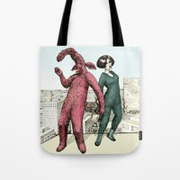 Dancing on the roof Tote Bag