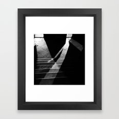 Here in my mind Framed Art Print