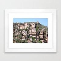 Unusual Rock Formations … Framed Art Print