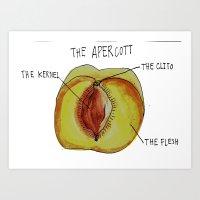 THE APERCOTT Art Print