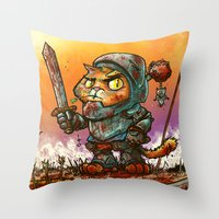 Gaticcus Throw Pillow