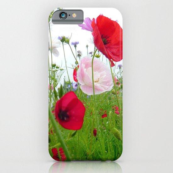 flower meadow iPhone & iPod Case