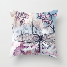 The Tea Migration Throw Pillow