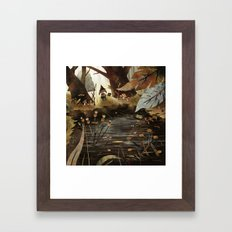 A Quiet Place Framed Art Print