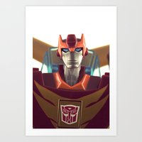 Rodimus Minor Art Print