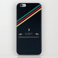 6. Electricity iPhone & iPod Skin