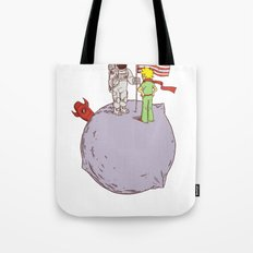 I Was Here First Tote Bag