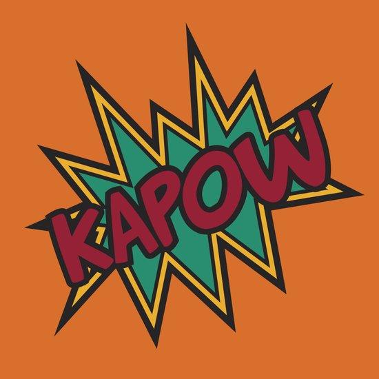 Kapow Art Print