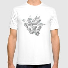 Penrose Manifold Mens Fitted Tee White SMALL