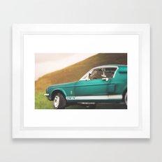 Mustang Framed Art Print