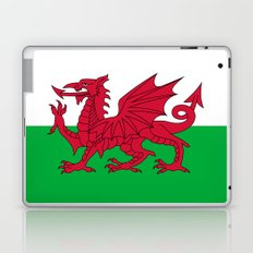 National flag of Wales - Authentic version Laptop & iPad Skin