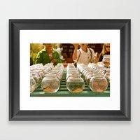 Wo-Zha-Wa Framed Art Print