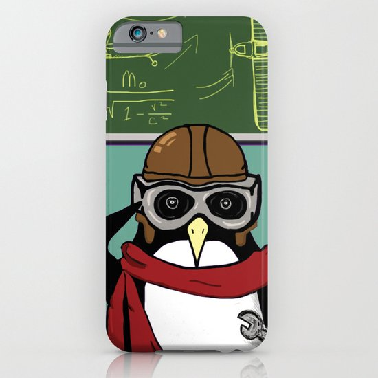 Little Penguin, Big Plans iPhone & iPod Case