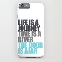 The Door is Ajar iPhone 6 Slim Case