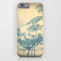 Chinoiserie -- Timeless with Queen Anne's Lace in Blue and Cream Vintage Duotone iPhone 6 Slim Case
