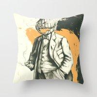 Headless Throw Pillow