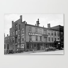 The Athens Hardware Co. Canvas Print