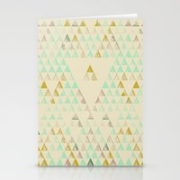 Triangle Lake Stationery Cards