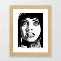 FRANKENHOOKER Framed Art Print