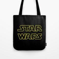 Star Logo Wars Tote Bag