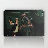 Hokey religions and ancient weapons are no match for a good blaster at your side Laptop & iPad Skin