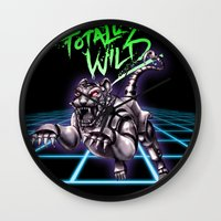 TOTALLY WILD Wall Clock