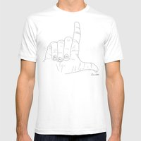 Yes You Are ! Mens Fitted Tee White SMALL