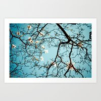 Scattered Random Thoughts Art Print