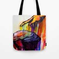 anointed cake Tote Bag