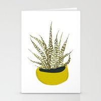 Zebra Cactus Stationery Cards