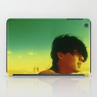 Asian Green and Yellow iPad Case