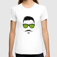 mustache T-shirts featuring Mustache by FalcaoLucas