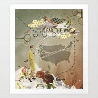 lead the way Art Print