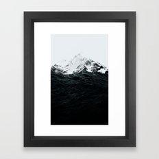 Those Waves Were Like Mo… Framed Art Print