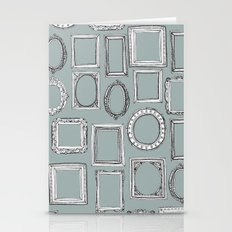 Picture Frames Grey Stationery Cards