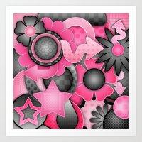 Bubble Gum Bash Art Print