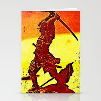 Ronin Red Stationery Cards