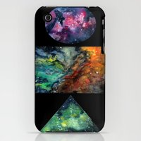 iPhone 3Gs & iPhone 3G Cases featuring itty bitty galaxies by Jmelancon