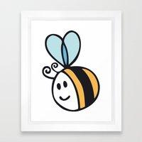 Beee Framed Art Print