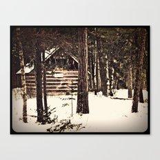winter refuge Canvas Print