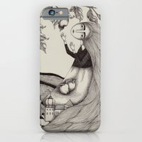 iPhone Cases featuring The Golden Apples (2) by Judith Clay