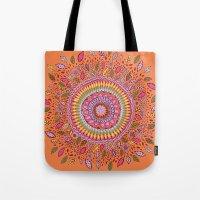 Pumpkin Bloom Tote Bag