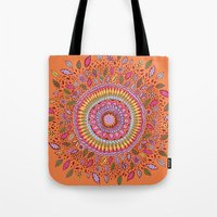 Pumpkin Bloom Tote Bag