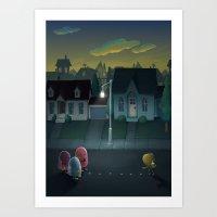 Pacman: Halloween Editio… Art Print