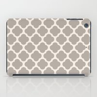 Gray Clover iPad Case