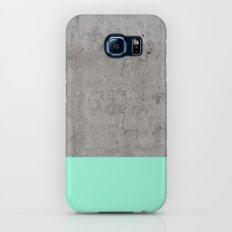 Sea on Concrete Galaxy S6 Slim Case