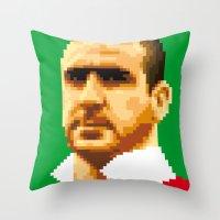 King of kickers Throw Pillow