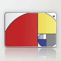 Mondrian Vs Fibonacci Laptop & iPad Skin