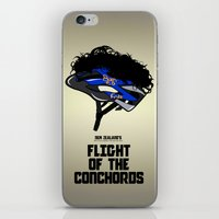 Flight of the Conchords - Hair Helmet iPhone & iPod Skin