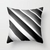 Paper Noir Throw Pillow